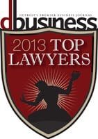 Business card top lawyer