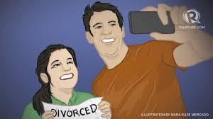divorce selfies