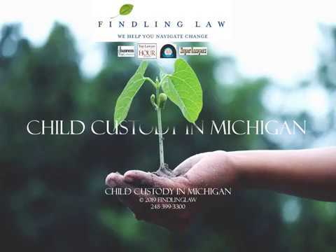 Michigan Child Custody Act Appeal – O'brien vs. D'Annunzio