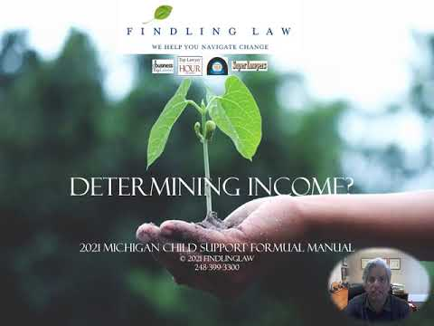 Determining Income for support