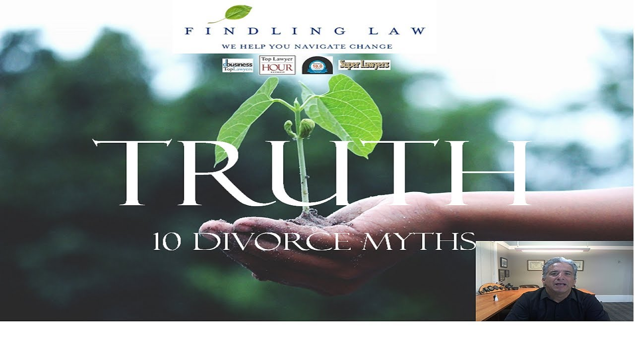 Divorce myths. A video of truth.